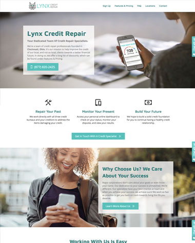 credit-repair-website-design