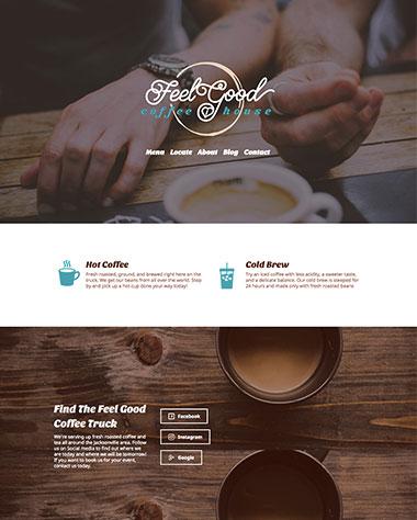 feel-good-coffee-house-web-design
