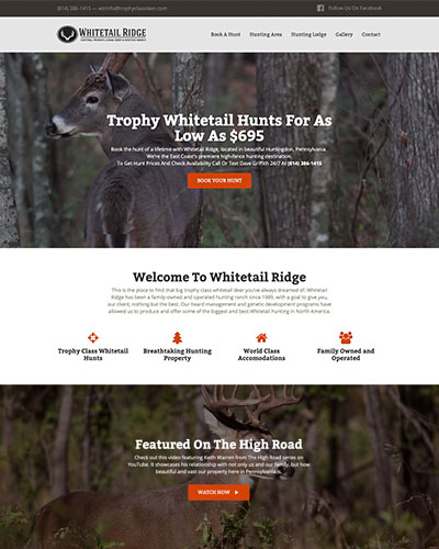 trophy-class-deer-hunting-website-design